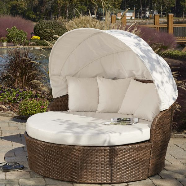 FREE SHIPPING! Shop Wayfair for Panama Jack Outdoor Key Biscayne Daybed with Cushion - Great Deals on all Furniture products with the best selection to choose from!