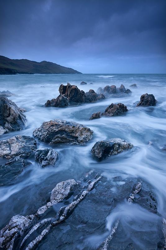 North Devon coastline, England