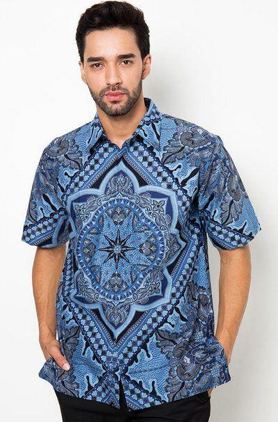 Kreasi Baju Batik Tulis Pria Modern Terbaru 2016