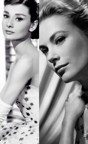Audrey Hepburn oder Grace Kelly?