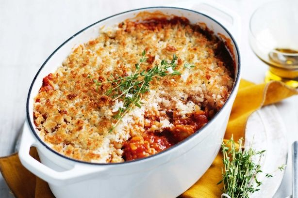 Pork and sage cassoulet
