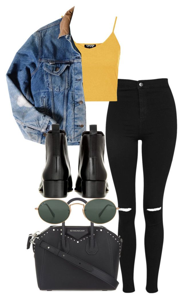 """""""Untitled #5162"""" by olivia-mr ❤ liked on Polyvore featuring Topshop, Carhartt, Acne Studios, Givenchy and Ray-Ban"""
