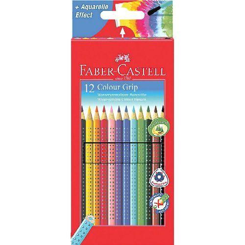12 darabos Faber Castell Colour Grip háromszög alakú színes ceruza készlet - Színes ceruzák Ft Ár 2,149 Ft Ár Háromszög alakú színes ceruza készlet