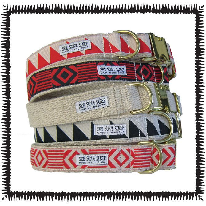 These are incredibly awesome dog collars; the smallest dog size would probably fit my cats ...