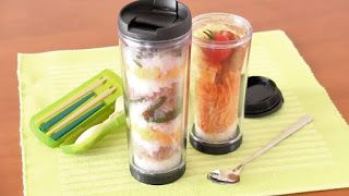Create Eat Happy :) Kawaii Japanese Recipes and Cooking Hacks: Tumbler Lunch (Three-Colored Soboro Bento) - Video...