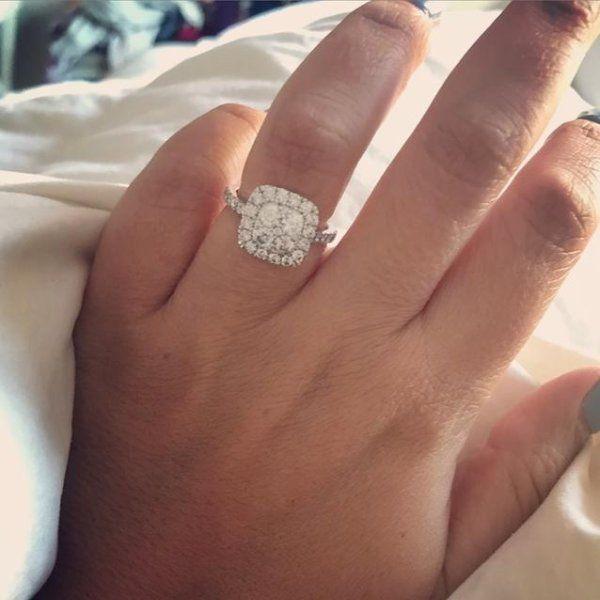 Pin On Engagement Rings On Finger