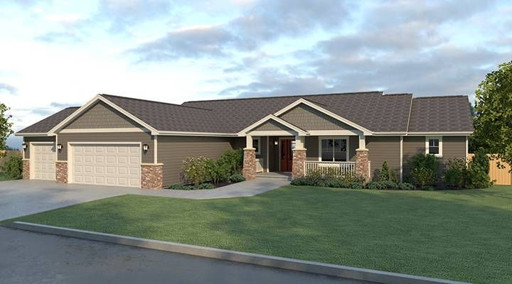 Ripple cove true built home true built home on your for Rambler house designs
