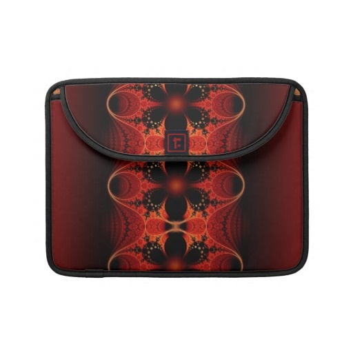 #Floral Ribbon #Abstract #Fractal #Art sleeve for #MacBook $71.95