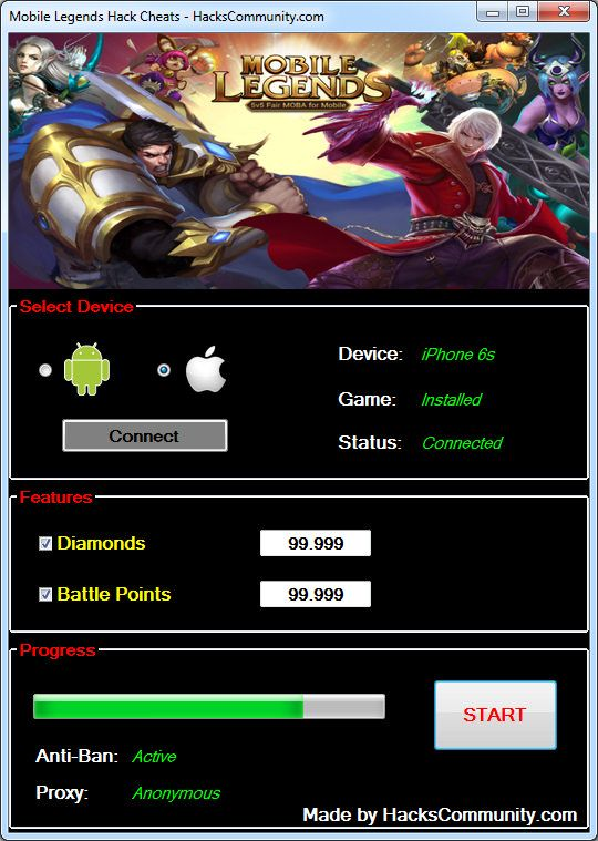 https://flic.kr/p/Q61KZK | Mobile Legends Hack Cheats | Mobile Legends Hack Cheats Tutorial [Unlimited Diamonds and Battle Points] Android iOS    No need to look anywhere else, the most advanced Mobile Legends Cheat is available right now for you to download. If you want to become the best player in the world and impress your friends, get the Mobile Legends Hack by HacksCommunity which requires no root or jailbreaking to your device. Mobile Legends Hack Cheats is very easy to use due to the…