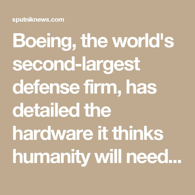 Boeing, the world's second-largest defense firm, has detailed the hardware it thinks humanity will need to stage a piloted mission to Mars - and outlined plans for lunar bases, which will serve as a jumping off point for deep space missions, and assist in exploration of the Moon.  Boeing, and five other companies, are already collaborating with NASA to develop the Space Launch System (SLS), which it is hoped will power a trip to Mars. Now, the firm has offered up conceptual designs for other…