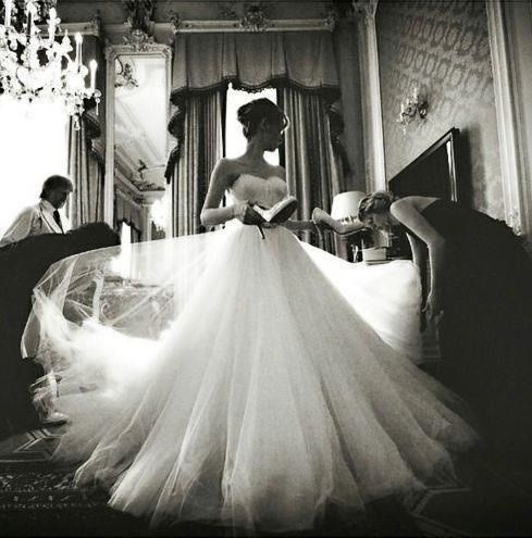 Lots of tulle ... lovely