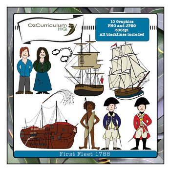 First Fleet Clipart - OzCurriculumHQ - TeachersPayTeachers.com