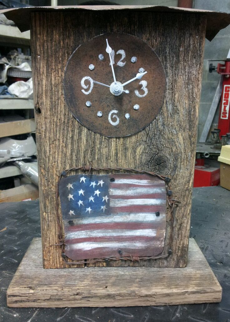 25 Best Ideas About Handmade Mantel Clocks On Pinterest