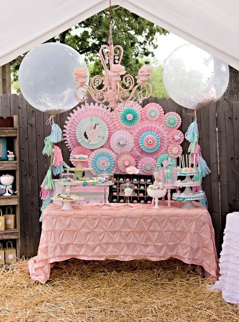 Vintage Pony Party #vintagepony #party