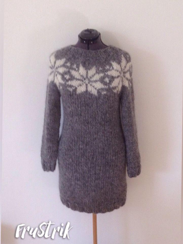 Dress - long sweater from www.Frustrik.dk - 1695,-