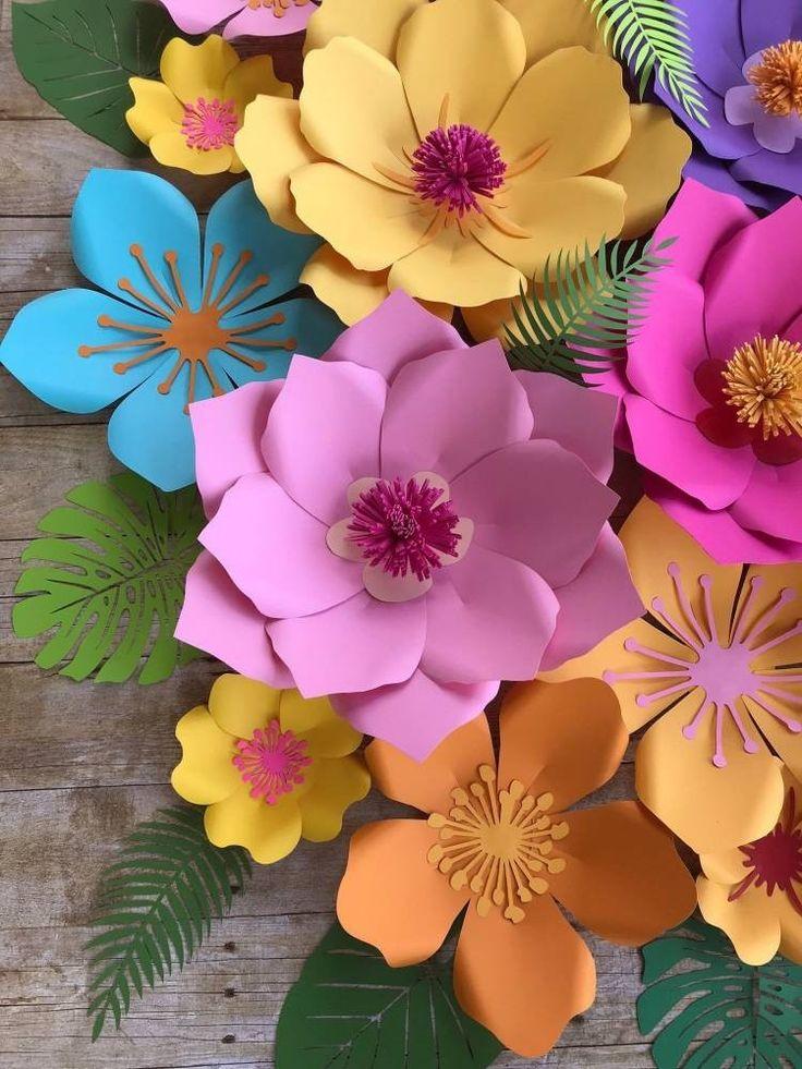 Картинки поделок цветов из бумаги