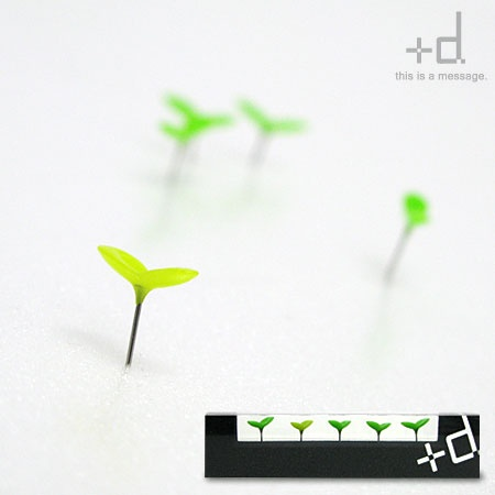 Sprout pins