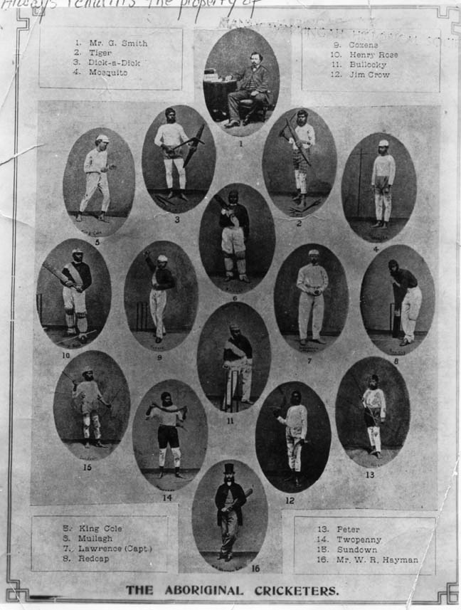 "Aboriginal cricket team. In the early history of cricket at Manly, perhaps the most unusual match was the one-dayer played on 27 February 1867 between Manly and ""The Australians"". Lawrence put up the Aboriginal team on his land at Manly, and coached them in the finer points of the game. As a fund-raiser for the forthcoming tour of England, a match was arranged between the men of Manly and the Australian Club,"