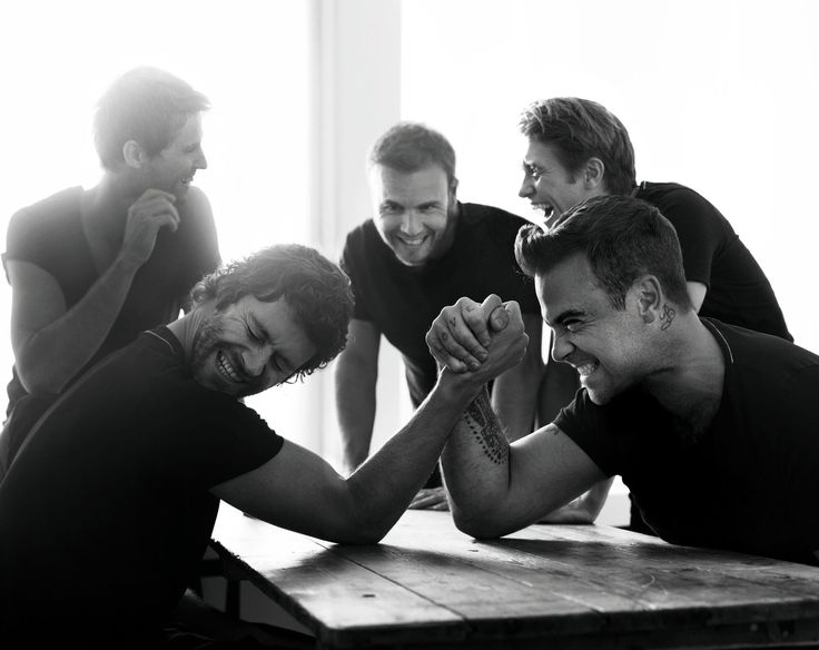 Take That (with Robbie Williams)