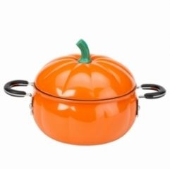 Imagine cooking pumpkin soup in this!