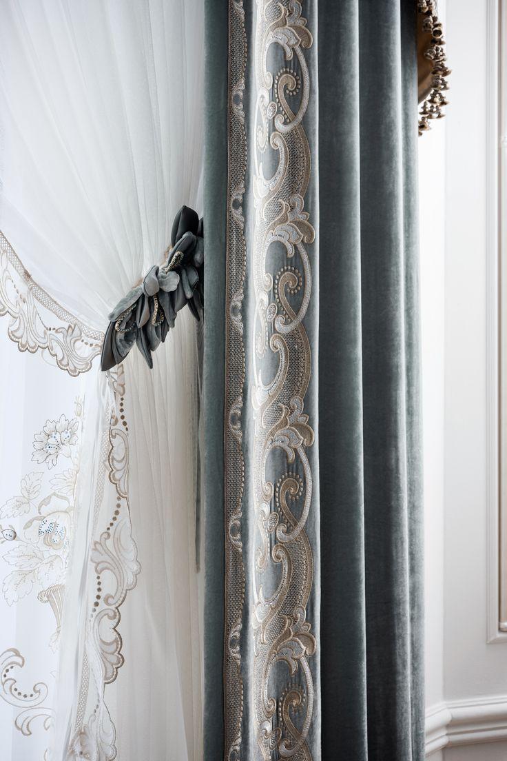 #luxurycurtains #curtains #madeinitaly #italiancraftmanship #elegants…