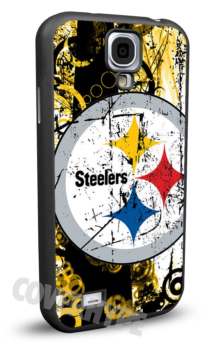 Pittsburgh Steelers Cell Phone Hard Case for Samsung Galaxy S5, Samsung Galaxy S4 or Samsung Galaxy S4 Mini