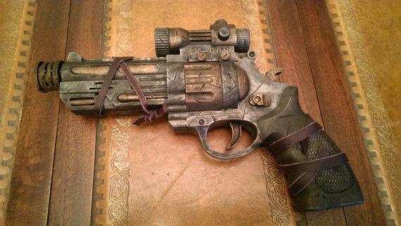 STEAMPUNK gun, Revolver, pistol ! For cosplay Find our speedloader now! http://www.amazon.com/shops/raeind