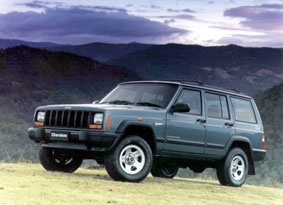 """1992 Jeep Cherokee Sport - Perhaps one of the most-fun SUVs I've ever owned. Decent gas mileage, and decent power from a 4.0ltr high output motor. My poor """"Jeepo"""" was unfortunately stolen in 2008. :("""