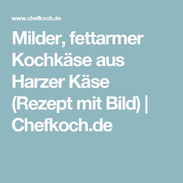 Milder, fettarmer Kochkäse aus Harzer Käse (Rezept mit Bild) | Chefkoch.de