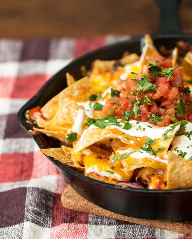 Pulled Pork Nachos | Buzzfeed #dinner #entrees