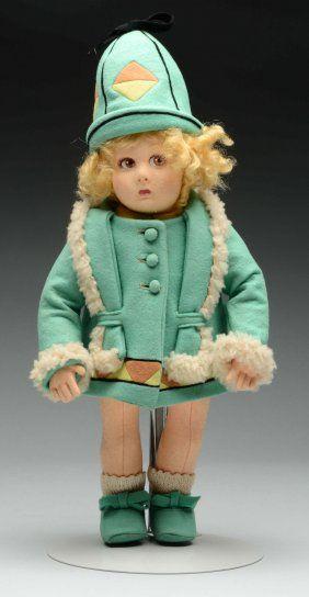 Итальянское Искусство Lenci Кукла.