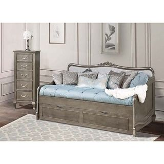 Shop for Kensington Elizabeth Antique Silver Daybed with Trundle. Get free delivery at Overstock.com - Your Online Furniture Outlet Store! Get 5% in rewards with Club O!