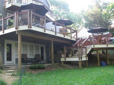 12 Best Deck Ideas Images On Pinterest | Backyard Ideas, Backyard Decks And  Outdoor Living