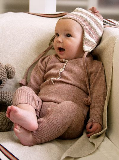 Luxurious Organic Infant and Baby Clothing: Seasonal Looks : Fall/Winter 2012