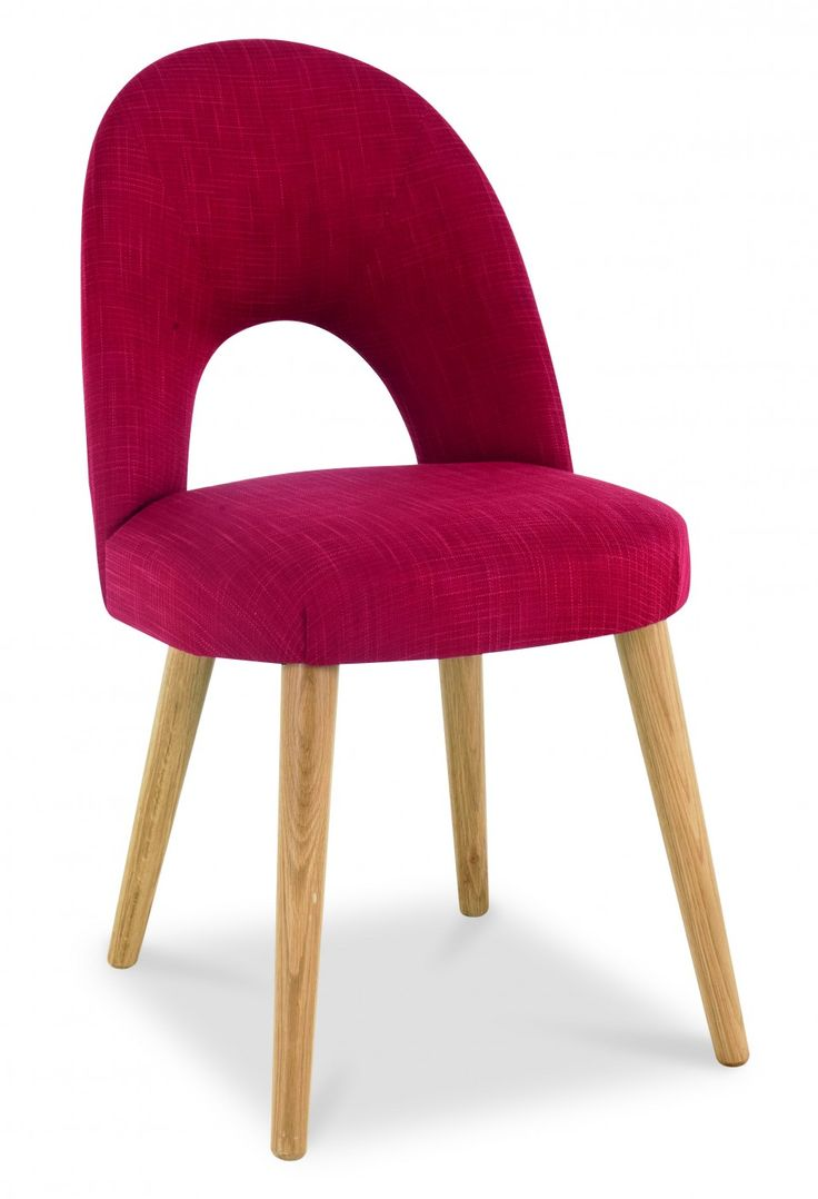 With its organic shape and unusual cut out design, the Charlie Chair makes a contemporary statement. Available in a choice of red, steel and stone fabric options, the Charlie provides excellent support and comfort.