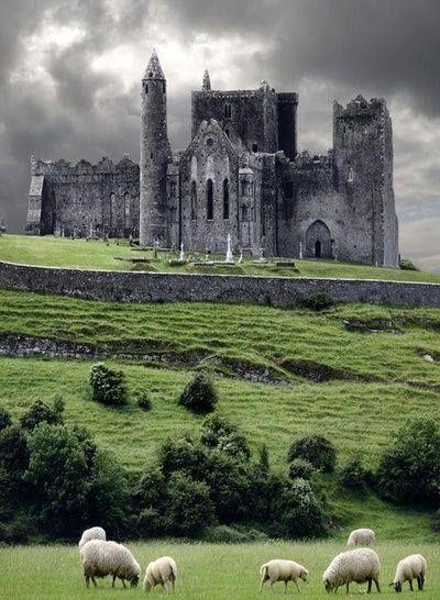 The Rock of Cashel, Ireland From: http://www.kiwifaves.co.nz/recipe/grannys-irish-soda-bread/