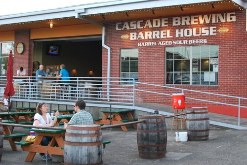 Cascade Brewing Barrel House, sour beer brewery | Portland, Oregon - I love sours! !