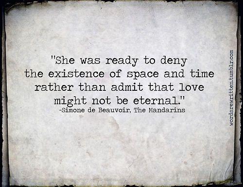 Simone de Beauvoir •