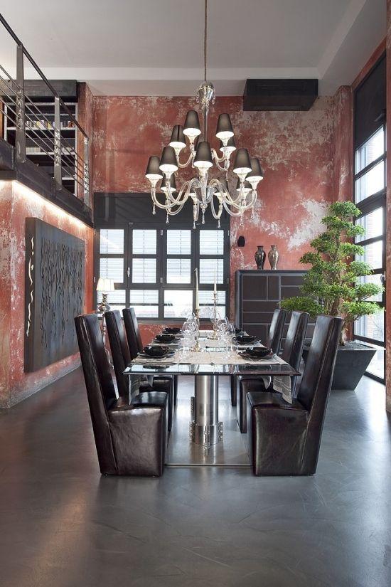 Die 51 besten Bilder zu Wand u Boden auf Pinterest Industriell - wohnzimmer rosa streichen