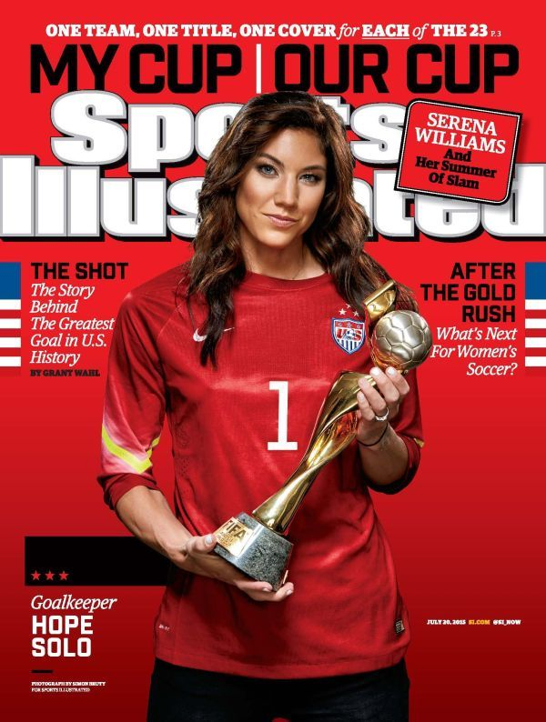 Hope Solo for Sport Illustrated