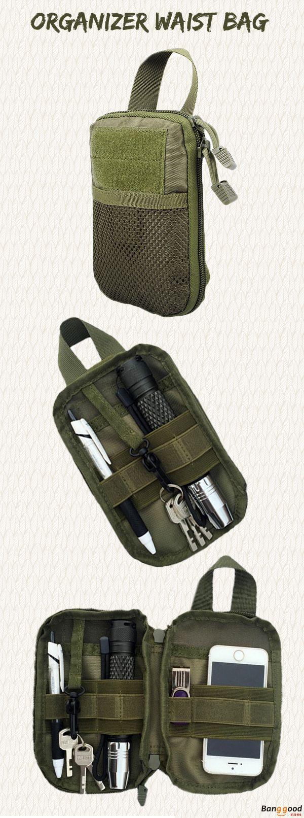 US$8.99 + Free shipping. Men's Waist Bag, Men Military Bag, EDC Pouch, Mesh Tools Bag, Accessories Organizer, Accessories Pouch, Tactical Waist Bag. Color: Black, Khaki, Army Green. Best Tools Organizer Ever.