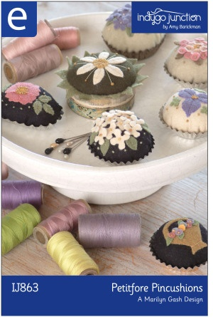 Download Petitfore Pincushions Sewing Pattern | Stitchery Downloadable Sewing Patterns | YouCanMakeThis.com