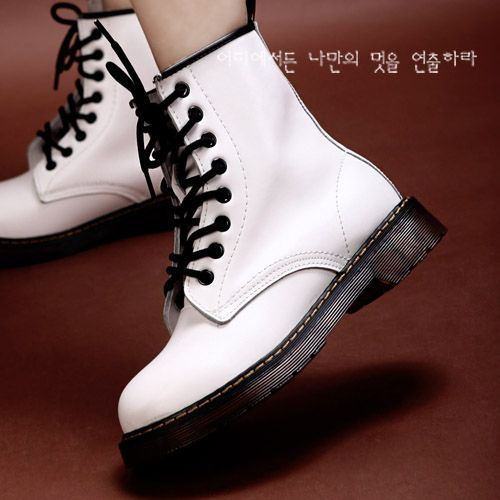 White Doc Martens - I wanted a pair of these when I was younger. I didn't get them :(
