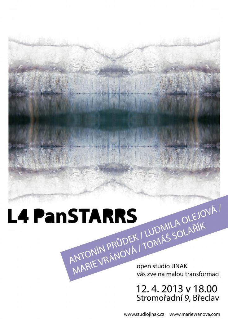 Plakát k výstavě L4PanSTARRS.
