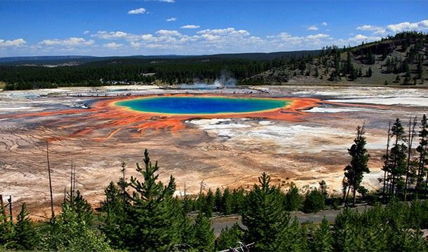 Grand Prismatic Spring – Yellowstone National Park, Wyoming