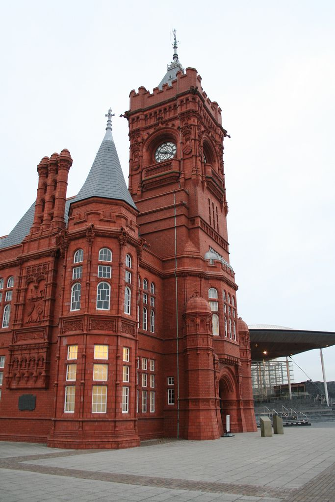 Pierhead Building - Cardiff Bay, Cardiff, South Wales, UK, , , beautiful building!!!!