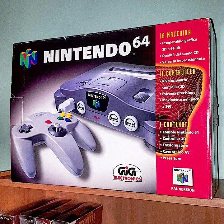 Nintendo 64 ❤