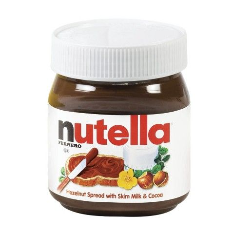 You can often find little packages of nutella in the store which are great with peanut butter on crackers or toast in the morning