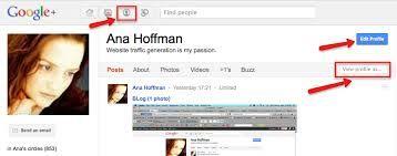 Image result for google profile