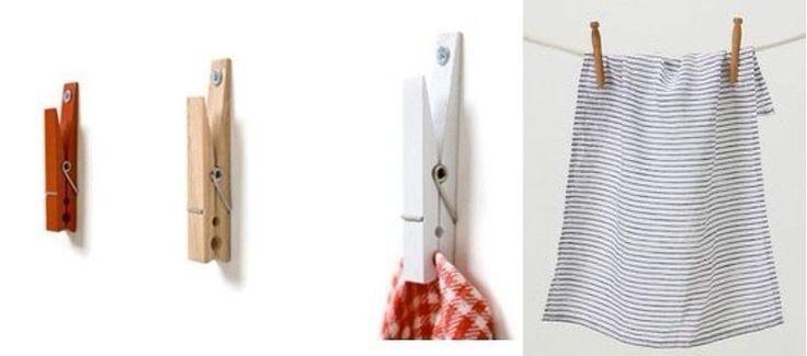 прищепки-держатели полотенец, салфеток